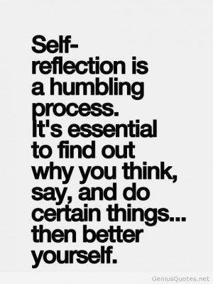 self reflecting